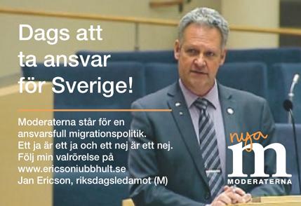 Sverigedemokraterna okar jobbig motvind for moderaterna
