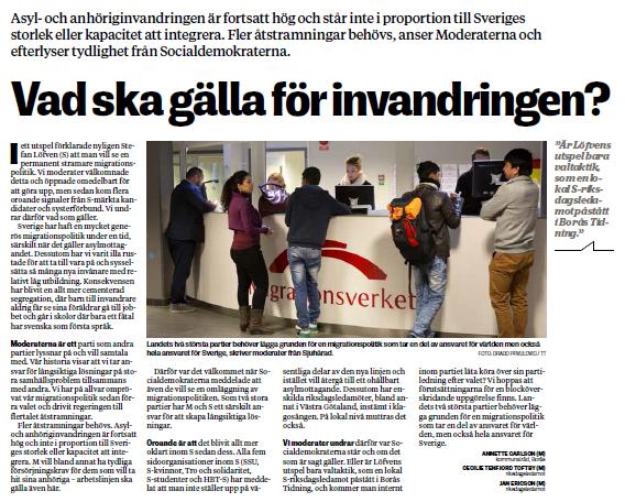 Stockholm torsdag med uppretade foraldrar pa sammantrade