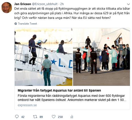 Finansministerns utspel om flyktingar visar pa regeringens oenighet