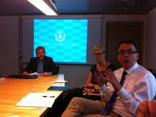 I går träffade jag ledningen för Högskolan i Borås eeecceea04754