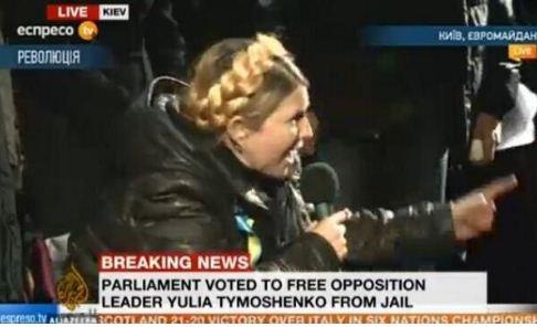 Ukrainsk opposition stoppad
