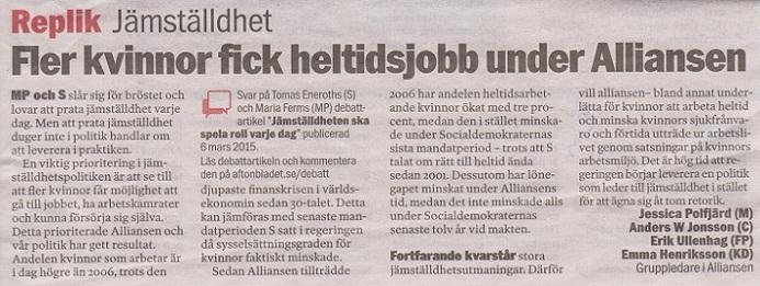 Trots att vi samtidigt gick igenom en djup ekonomisk kris. Och vi lyckades  mycket bättre än vad Socialdemokraternas regering dessförinnan gjorde. 34514a66eb5aa