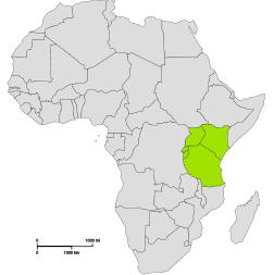 Karta Afrikas Ostkust.Ericson I Ubbhult