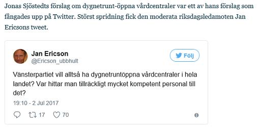 9f51ddb6af0e Dagens Media följer varje dag upp vad som kommenteras i sociala medier om  de olika partiernas utspel och annat som händer i Almedalen.